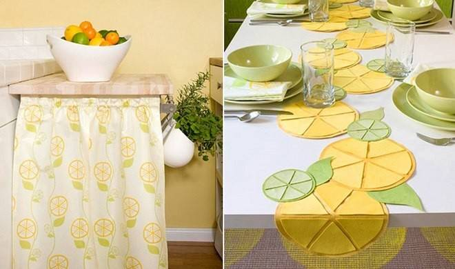 Home Decorating Ideas Lemons Sunny Yellow Summer Mood