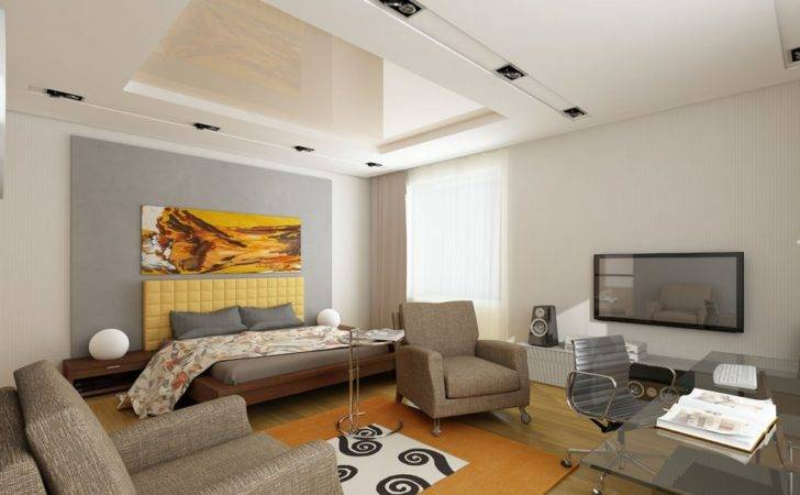 Home Decorations Cool Ceiling Design Mirrored Pop Decor