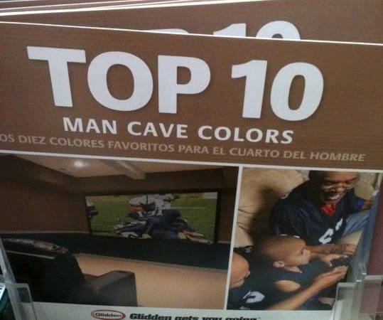 Home Depot Makes Man Cave Official