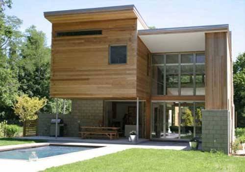 Home Design Green House Berg Architects