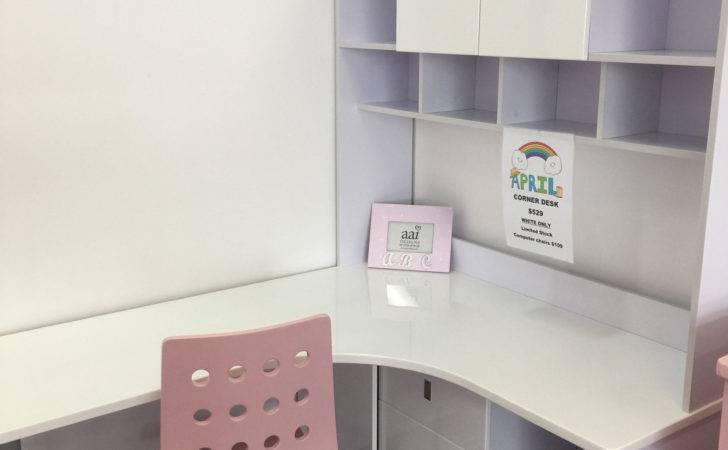 Home Desks Corner April Kids Study Desk