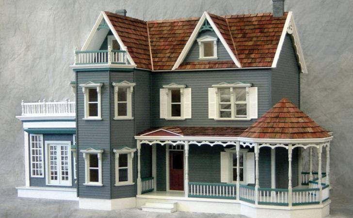 Home Dollhouses New Concepts Harborside Mansion Dollhouse Kit