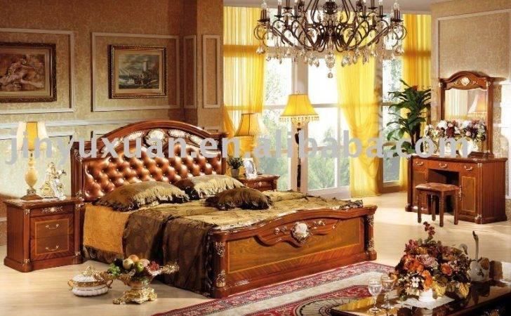 Home European Classical High Class Wooden Bedroom Set Cdb