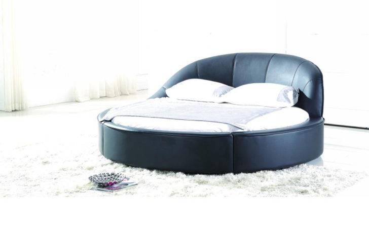 Home Furnishing Bedroom Furniture Beds Modern Round Bed
