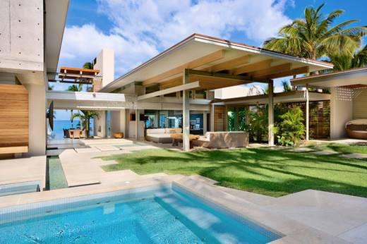 Home Furniture Hawaiian Tropical House Design