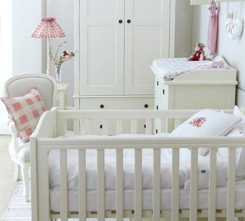 Home Furniture Nordic Nursery Cot