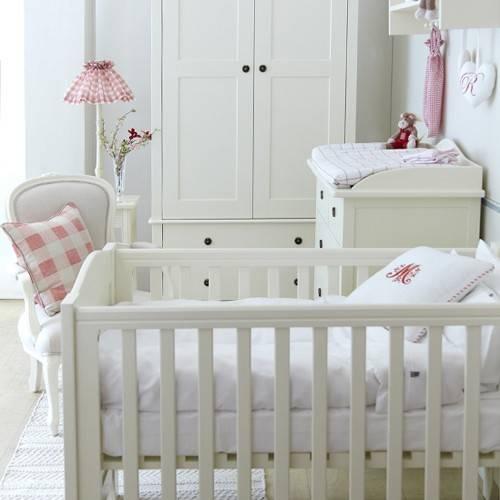 Home Furniture Nordic Nursery Cot