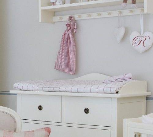 Home Furniture Nordic Nursery Dresser Changing
