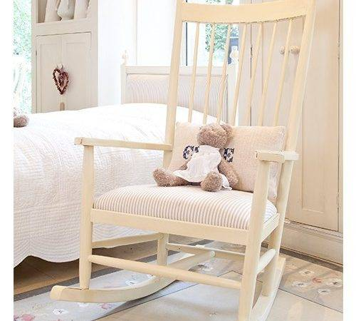 Home Furniture Nordic Nursery Rocking Chair