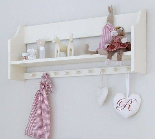 Home Furniture Nordic Nursery Shelf Hooks