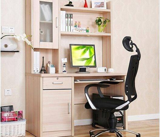 Home Furniture Study Table Writing Desk Cabinet