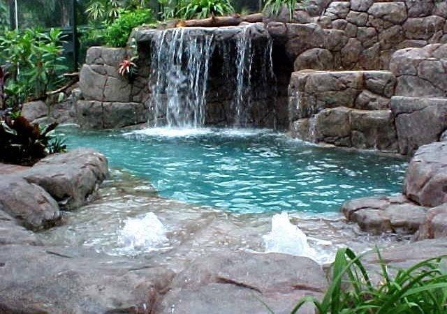 Home Garden Artificial Rocks Around Swimming Pool