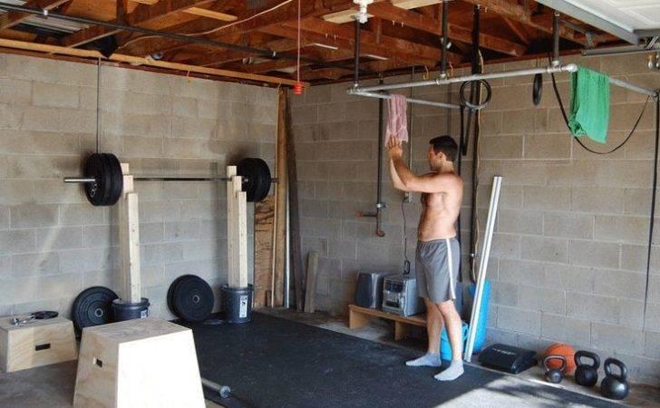Home Gym Ideas Garage Diy Fitness Pinterest