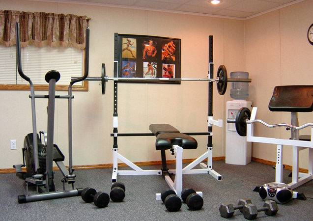 Home Gyms Small Gym Ideas