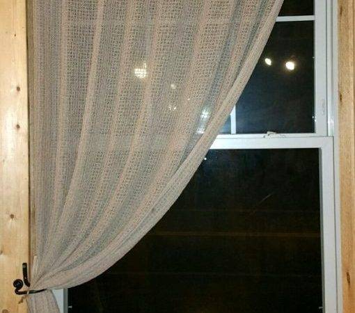 Home Heirloom Textiles Curtain Cloister Netting Hemp