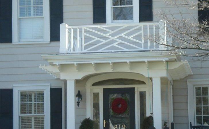 Home Ideas White Beadboard Plan Unique Wooden Balcony Railing