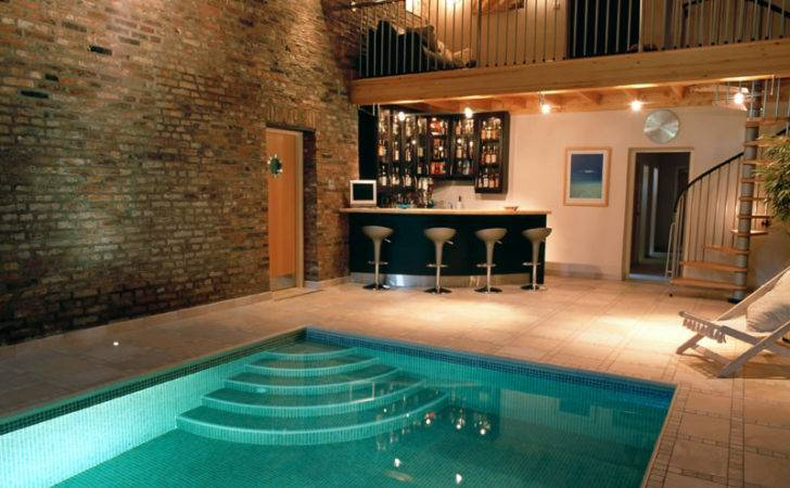 Home Indoor Pool Bar Swimming