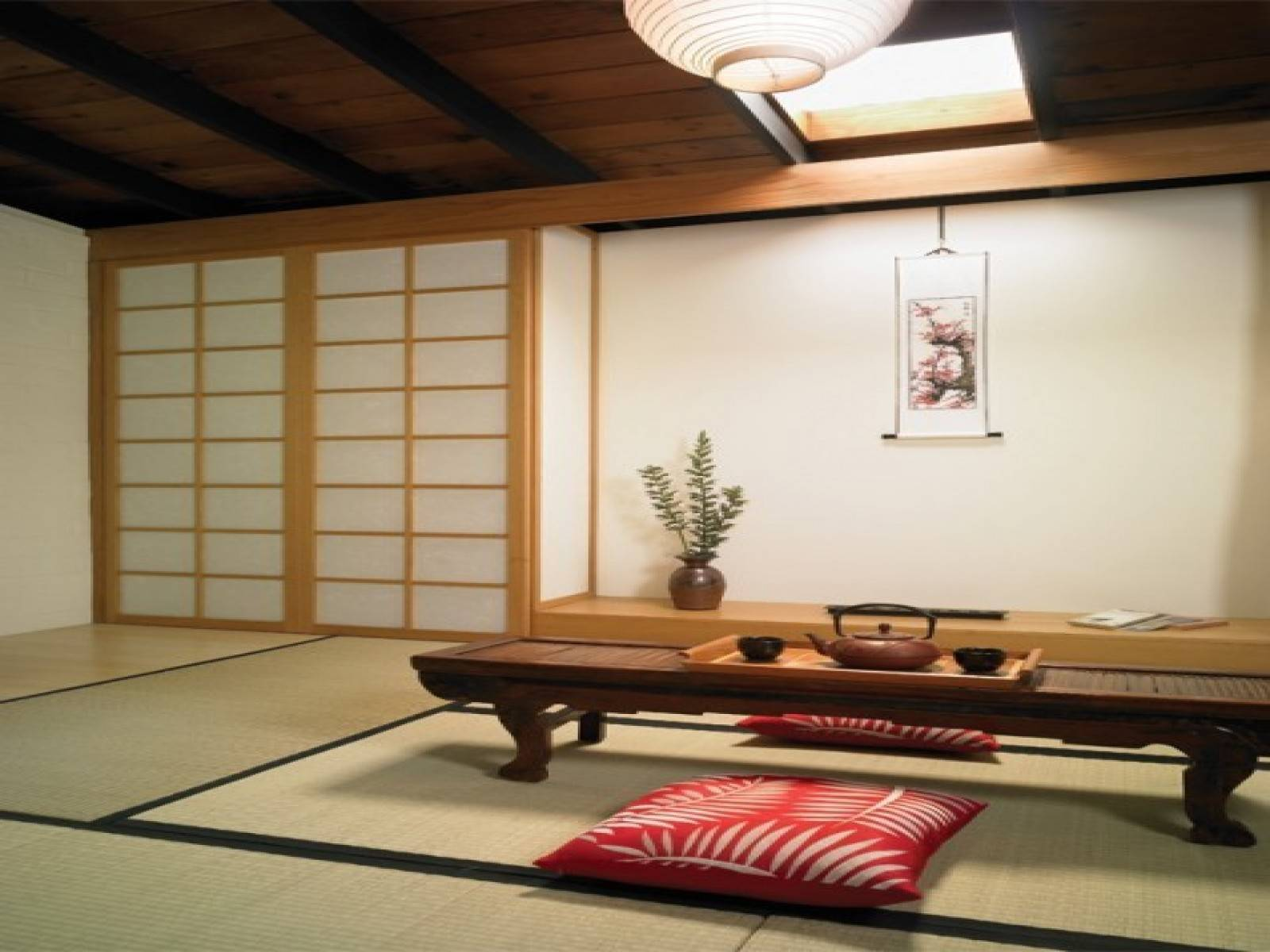 Home Interior Design Japanese Style Concept