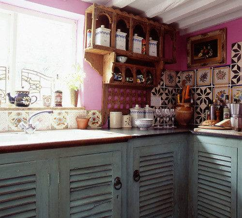 Home Interior Designs Cheap Fearless Bohemian Color