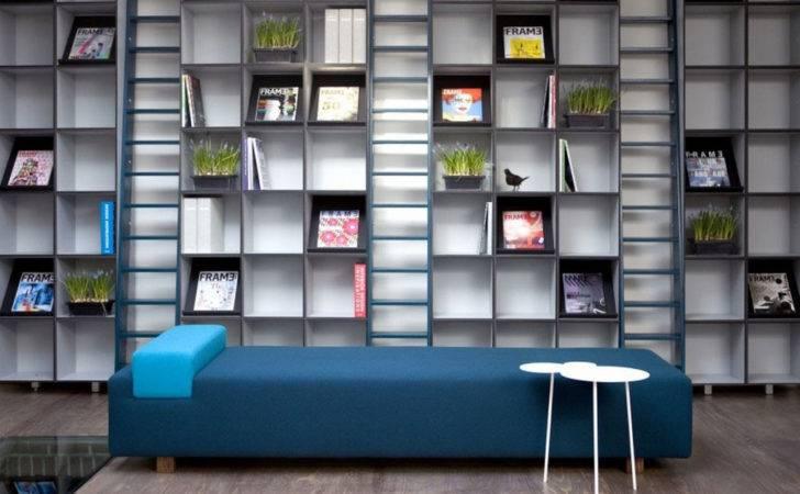 Home Library Furniture Design Interior