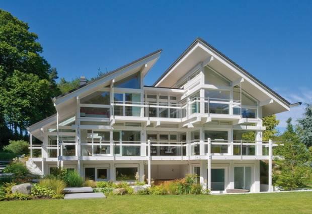 Home Luxury Homes Huf Haus Makes Prefab