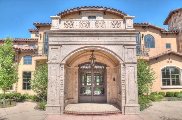 Home Luxury Homes Newly Built Tuscan Inspired Mansion Sale