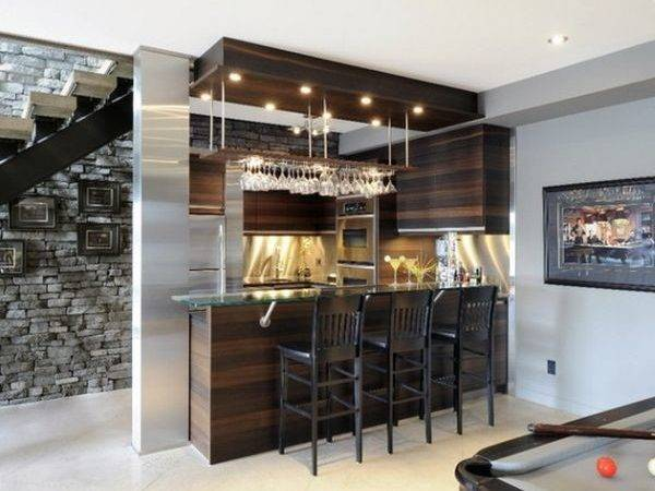 Home Mini Bar Counter Design