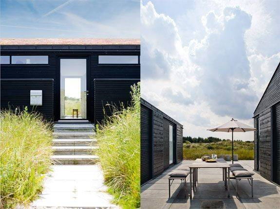 Home Modern Cabin Sea Summer House Architecture Outside