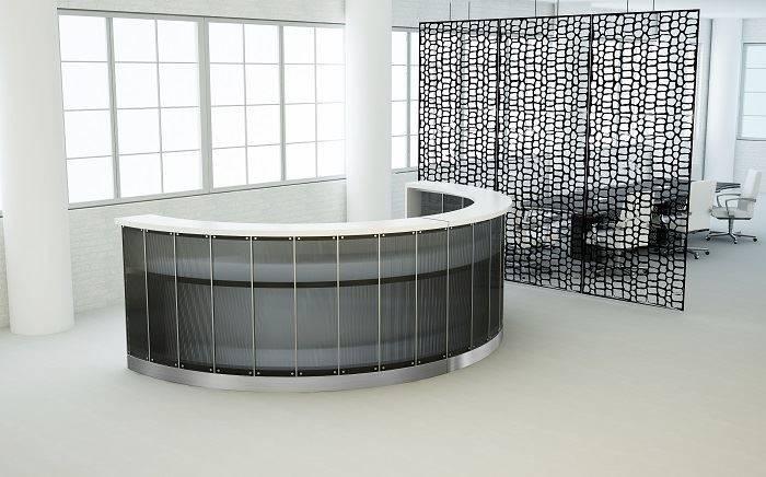 Home Modern Reception Desks Newport Contemporary Desk
