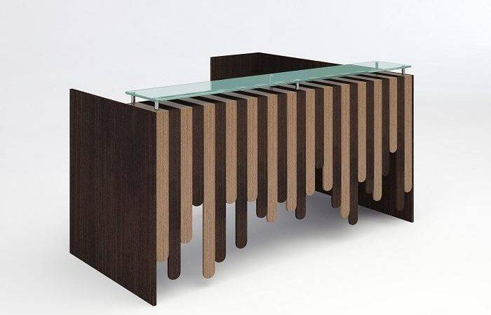 Home Modern Reception Desks Orlando Desk