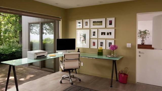 Home Office Good Feng Shui Contemporary
