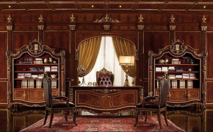 Home Office Library Furniture Bookcases Luxury