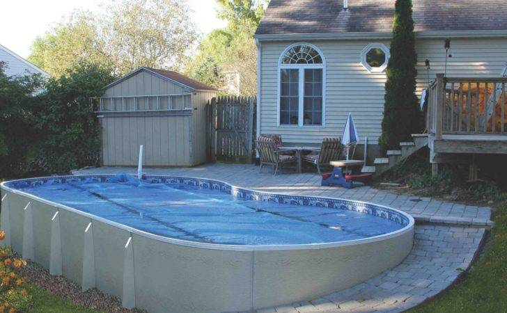 Home Outdoor Ideas Amazing Above Ground Swimming Pool