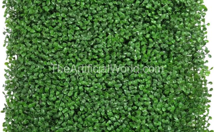 Home Panels Pcs Artificial Boxwood Hedge Mat Faux