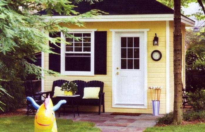 Home Plans Well Backyard Cottage Studio Back Yard