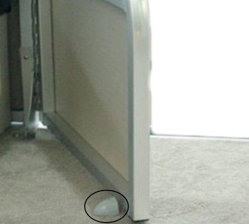 Home Pontoon Exteriors Latches Doorstops Flexible Door Stop Kit