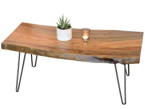 Home Products Retro Natural Edge Coffee Table