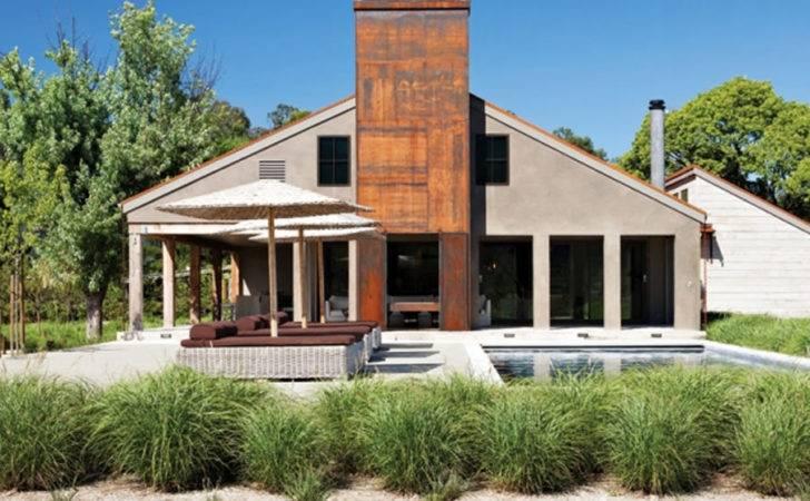 Home Rustic Modern Interior Exterior Design House