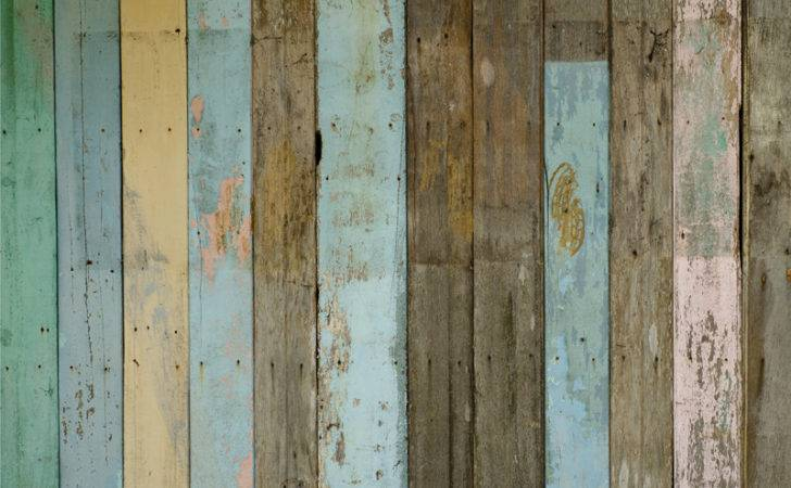 Home Self Adhesive Distressed Wood Panels