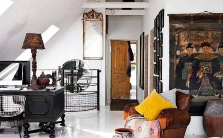 Home Shabby Oriental Vintage Interior Design