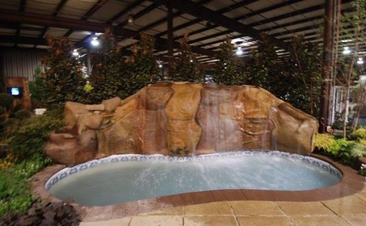 Home Show Display Vistaprolandscape Pool Spa