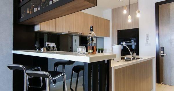 Home Sleek Urban Elements Condo Interior Design Infinity
