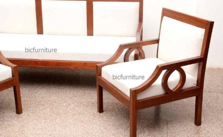 Home Sofa Range Wooden Sofas Contemporary Teak Set