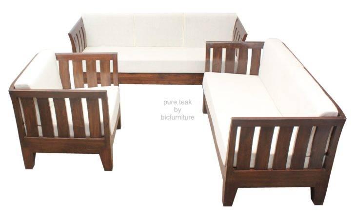 Home Sofa Range Wooden Sofas Teakwood Set