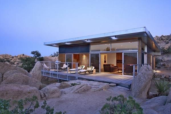 Home Steel Frame Metallic Structure Homes Stunning Design