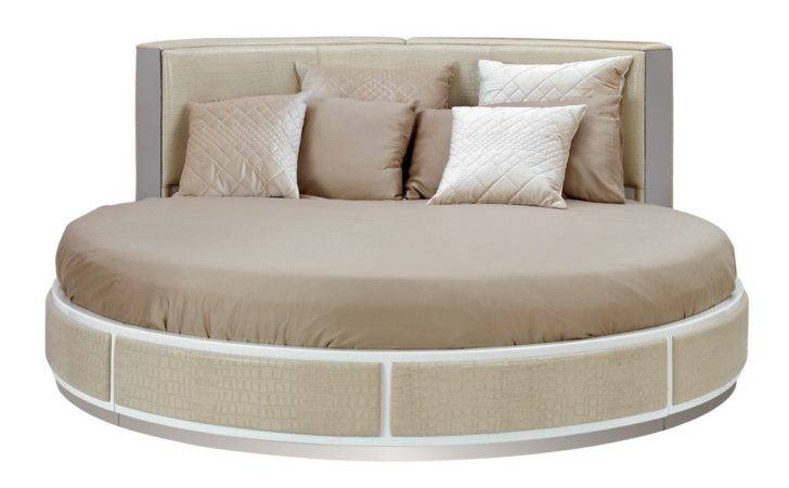 Home Temptation Ophelia Modern Round Bed
