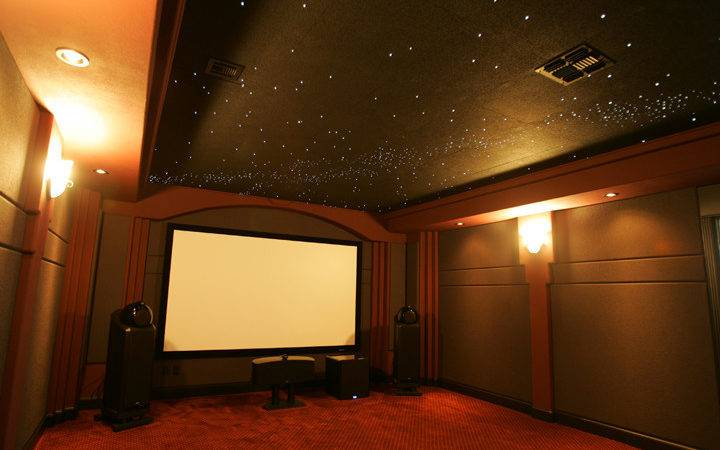 Home Theater Ceiling Wall Panels Soundproofing