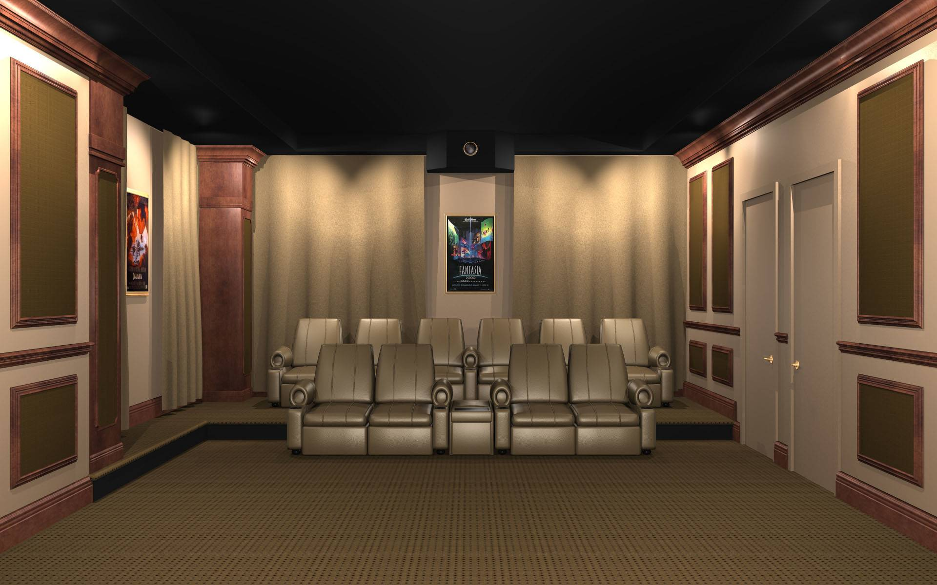 Home Theater Wall Panels
