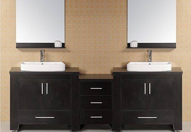 Home Washington Modular Double Sink Bathroom Vanity Set