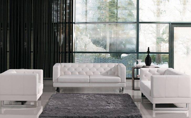 Home Windsor Italian Design Leatherette Sofa Set